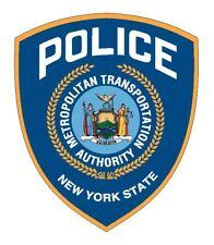 New York MTA Police Sticker Decal R4855