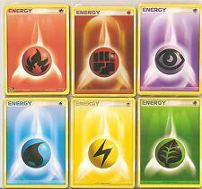 Pokemon Energy Cards Bundle SET OF 10 - Select Type - Various Sets