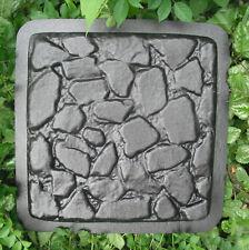plaster/ concrete cobblestone plastic mold heavy duty