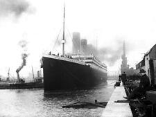 RMS Titanic Port Old Retro 1912 Original Vintage Photo Huge Print POSTER Affiche