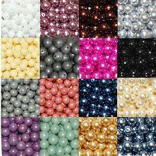 Perle circa roundbeads perline di vetro tondo round beads 8 mm 20 PZ
