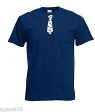 Corbata POLACO POLSKA koszulka Funny lema camiseta tamaño de S A Xxxl Negro De Regalo