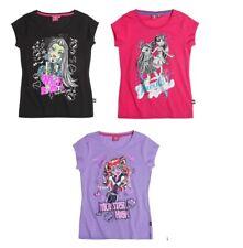 Monster High T-Shirt Shirt pink lila schwarz