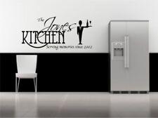 Personalizado Adhesivo Pared Frase para Cocina Decorativo Mural Vinilo