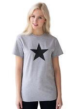 Star T Shirt Retro Vintage Geometric Women's Men's Gym Yoga Graphic Printed Tee