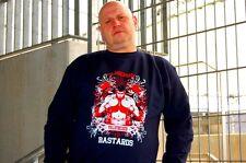 Sweatshirt Pulli Oldschool Bastards Vollstrecker für ultras hooligans biker