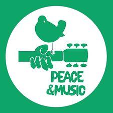 Woodstock festival Peace and Music T-Shirt Jimi Hendrix Janis Joplin The Who