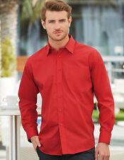 Fruit of the Men´s Long Sleeve Poplin Shirt Herren Hemd S-3XL F602 (S)