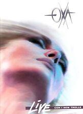 ANNA OXA LIVE con NEW TROLLS 2 LP 33 giri MADE in ITALY 1990 stampa ITALIANA
