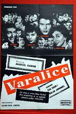 CHEATERS FRENCH PETIT BELMONDO 1959 EXYU MOVIE POSTER