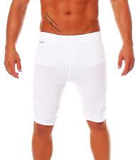 ADIDAS TF CS tight short sotto trascinamento Pantaloni FUNZ ions doposcuola Techfit bianco uomo p92092