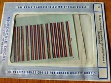Microscale Decal N  #60-427 Amtrak Superliner Passenger Cars Stripes - Phase II