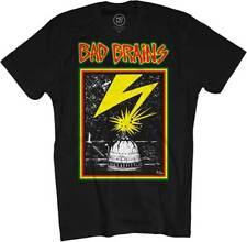 BAD BRAINS - Capitol - T SHIRT S-M-L-XL-2XL Brand New T Shirt Official