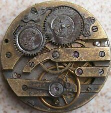 41 mm. in diameter balance broken Vintage pocket watch movement & dial