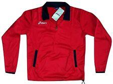 Kinder/Junior Sweatshirt ASICS T326Z9.2660 Dunkelrot/Blau mit Reißverschluss