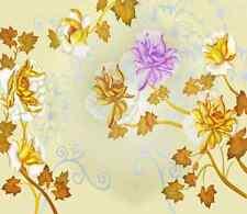 3D Purple Blossoms 608 WallPaper Murals Wall Print Decal Wall Deco AJ WALLPAPER
