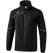 Erima Premium One 2.0 Allwetterjacke Fußball Jacke Herren Regenjacke schwarz