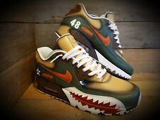 Nike Air Max 90/Custom Painted/Warhawk/Sharks Teeth/Ultra/ID/Force 1