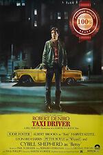 NEW TAXI DRIVER ROBERT DE NIRO 1976 70s FILM MOVIE ORIGINAL PRINT PREMIUM POSTER