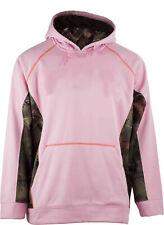 Women PINK & CAMO Soft Shell HOODED WATERPROOF & WINDPROOF Jacket-CAMPING HIKING