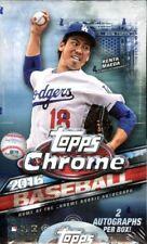 2016 Topps Chrome Baseball Prism Réfracteur Choisissez Votre Carte - Complet