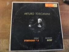 "ARTURO TOSCANINI  "" SCHUBERT SYMPHONY n° 5 "" LP VINILE"
