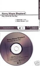 KENNY WAYNE SHEPHERD Hey What Do EDIT PROMO CD Single