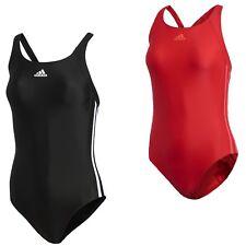 870e3685c9dc adidas Badeanzug Frauen Infinitex 3 Streifen Training Schwimmanzug Damen  schwarz