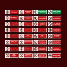 ACQUA potabile / NO CANI / giochi di palla / non autorizzate-PLASTICA Firmare, Adesivo