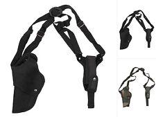 MFH Pistolen-Schulterholster Links mit Magazintasche Pistolenholster Holster