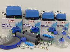 Osaga MK - Serie 10, 20, 30, 60 Teichbelüfter Sauerstoffpumpe Belüfter / Zubehör