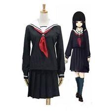 Anime Hell Girl Enma Ai School Uniforms Cosplay Costume Size