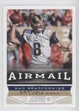 2013 Score Scorecard #246 Sam Bradford St. Louis Rams Football Card