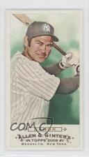 2009 Topps Allen & Ginter's Mini 130 Johnny Damon New York Yankees Baseball Card