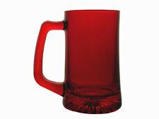 Glass Mug 14 Ounces CHRISTMAS CHEER Tumbler Cup Parts Beer Mugs Soda