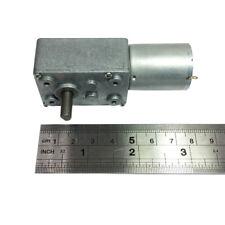 DC Small Worm Geared Motor 370 Motor Diameter 6MM Self-locking DIY Parts