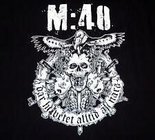 M 40 / M:40 - Dar Helvetet Alltid Ar Nara shirt / New / S, M, L, XL, XXL / Punk