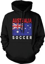 Australia Flag Soccer Football Austrailian Pride Socceroos Hoodie Pullover