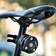 Folding MIni Bike Lock Chain Hamburg Anti-Theft Safety Alloy Bicycle MTB Locks