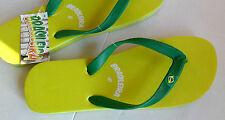 Infradito Mare Brasileira Uomo Donna  Flip Flop Yellow/Green