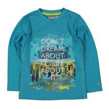 de manga larga niños camiseta turquesa von BOBOLI TALLA 98 104 110 116 128 140