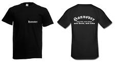 Herren T-Shirt Hannover I Fussball I Verein I Sprüche I Fun I Lustig bis 5XL