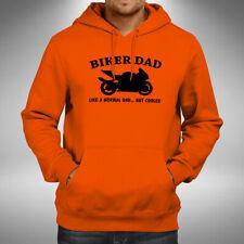 Biker Dad Adult Hoodie Superbike Motorbike Bikes Fathers Day Christmas Gift