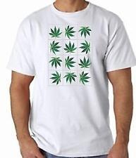 Cannabis Leaf Design T Shirt 100% Cotton  FREE UK P&P Ganja Hash, Marijuana hemp