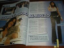 Star Tv.MELITA TONIOLO, ELISABETTA GREGORACI, ALESSANDRA BENEDUCCI,MIRELLA SESSA