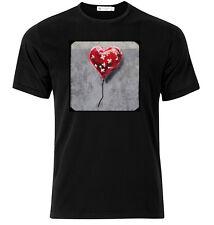 Brooklyn Banksy  - Graphic Cotton T Shirt Short & Long Sleeve