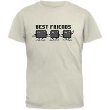 Ctrl Alt Delete Best Friends Natural Adult T-Shirt