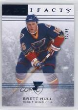 2014-15 Upper Deck Artifacts Sapphire #28 Brett Hull St. Louis Blues Hockey Card