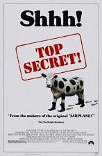 Top Secret Película Póster Película A4 A3 Art Print Cine