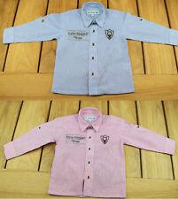 Kinder Trachtenhemd gestreift Gr.80-176 Jungen Trachten Hemd Kinderhemd Oktober